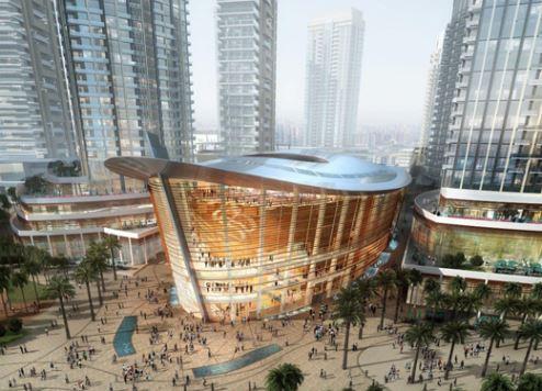 Скоро открытие первого ресторана в зале Dubai Opera