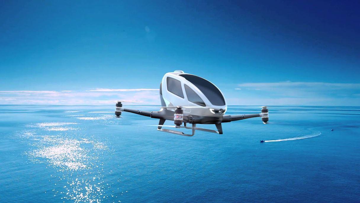 В Дубае автомобили поднимутся в небо!