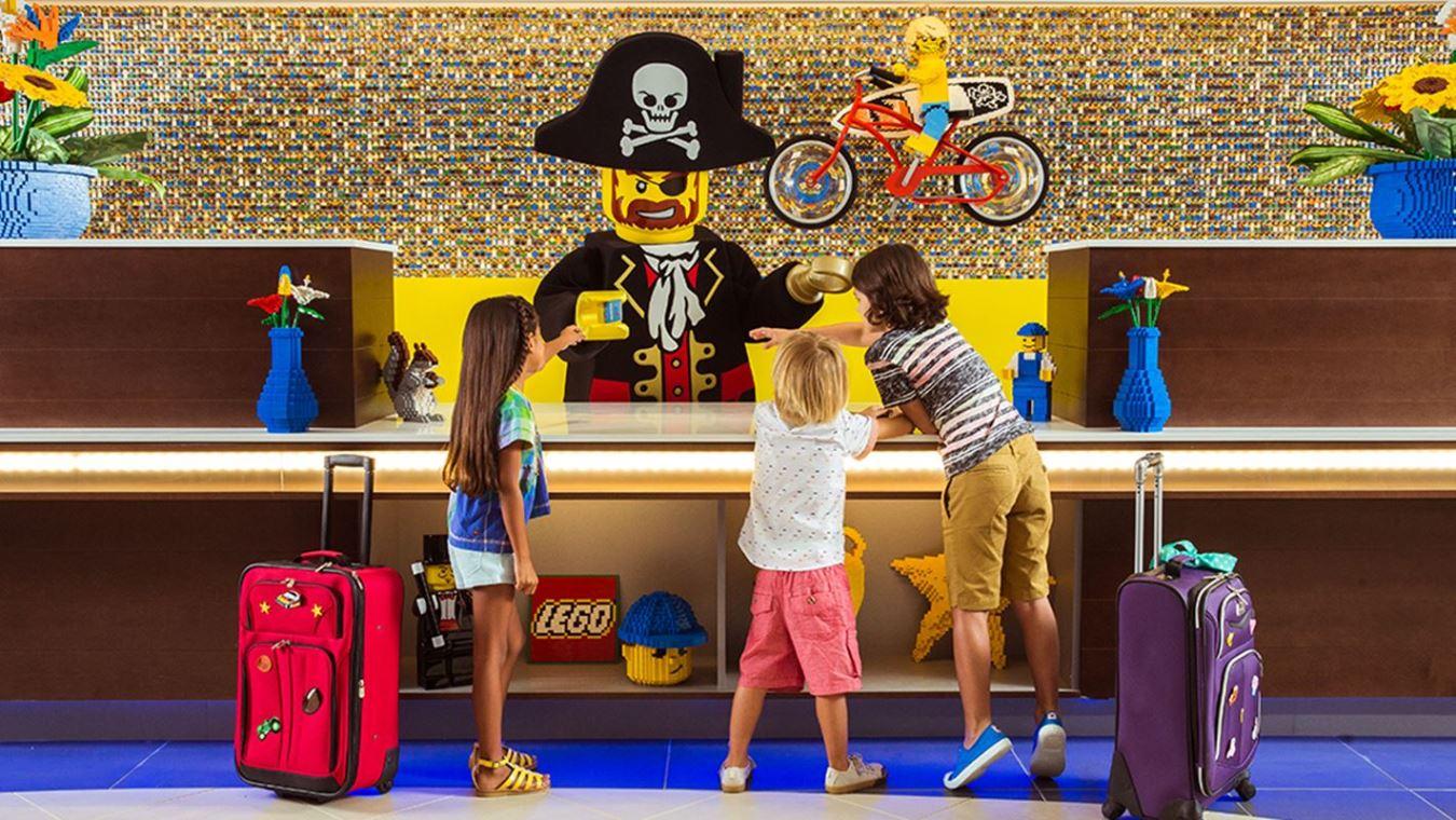Дубай построит первый в регионе Legoland Hotel