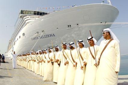 В новом сезоне Дубай примет 600 000 круизных туристов