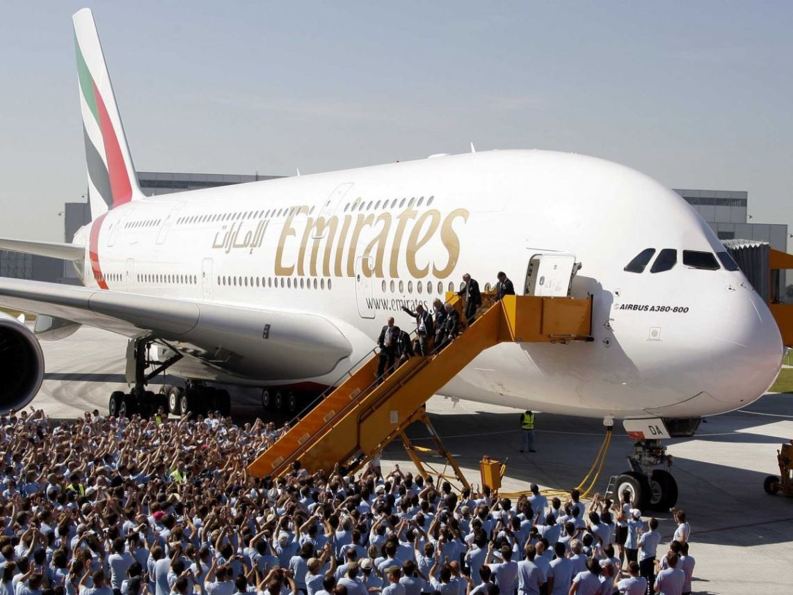 История успеха A380 компании Emirates Airline