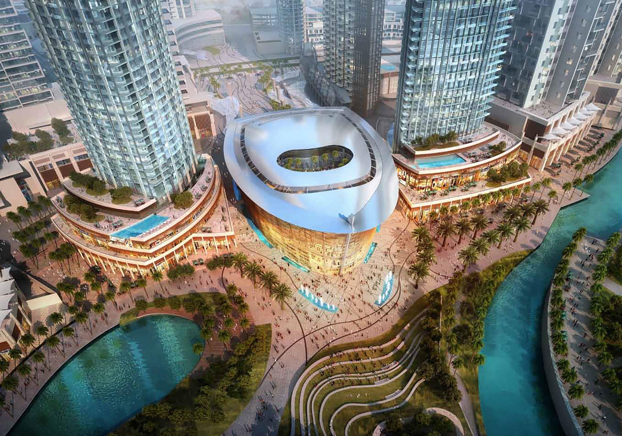 Оперный зал Dubai Opera откроется в августе