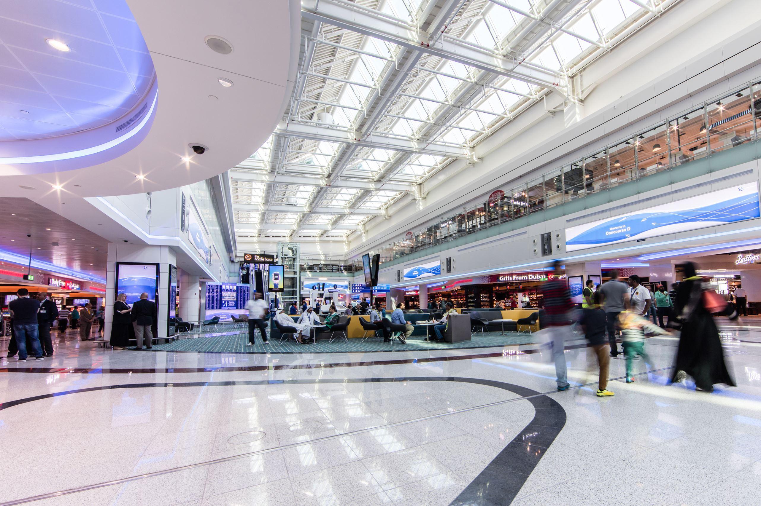 Пассажирский трафик аэропорта Dubai International в первом полугодии превысил 40 млн. человек
