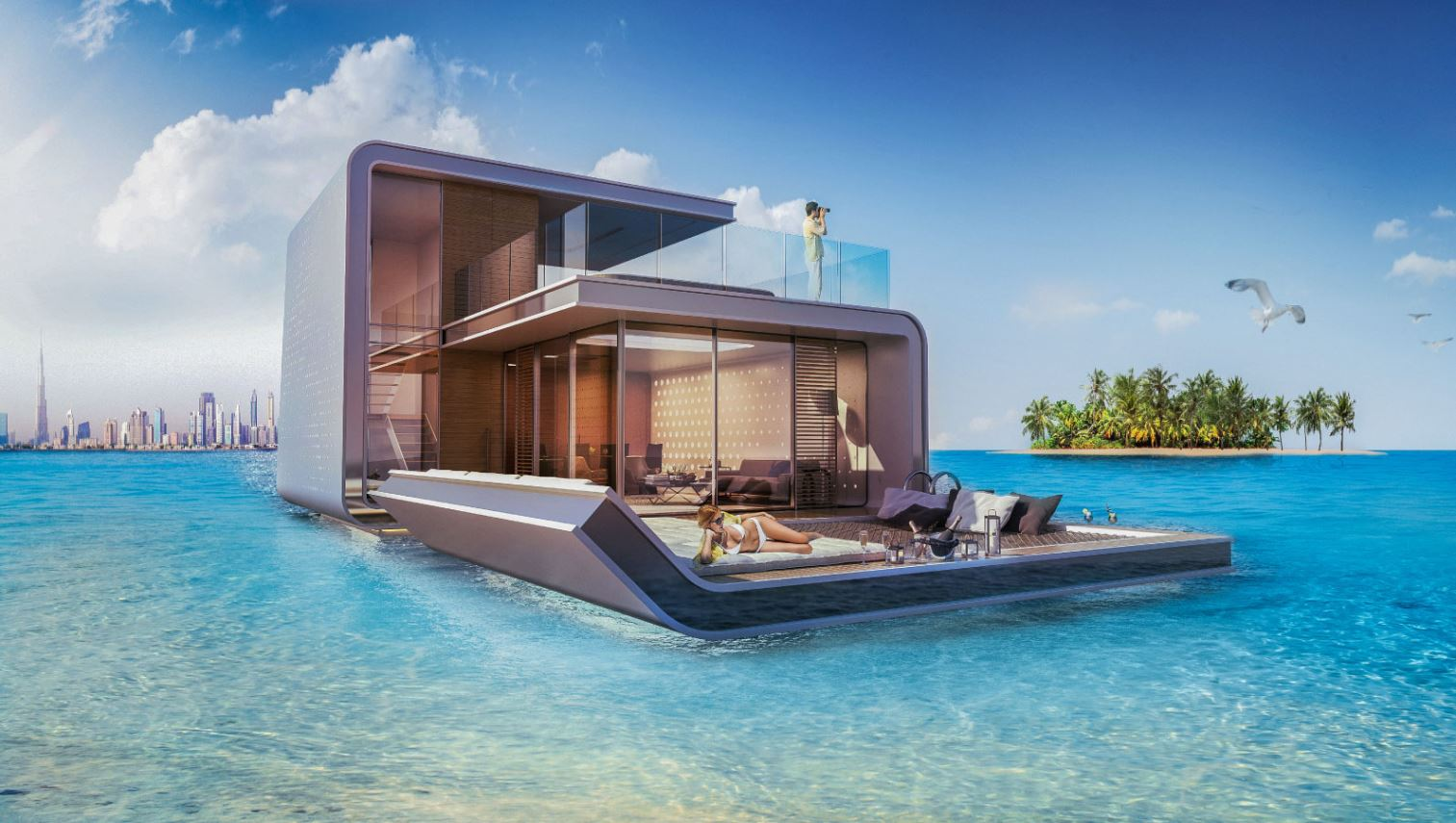 На выставке Cityscape будет представлен проект футуристических домов на воде