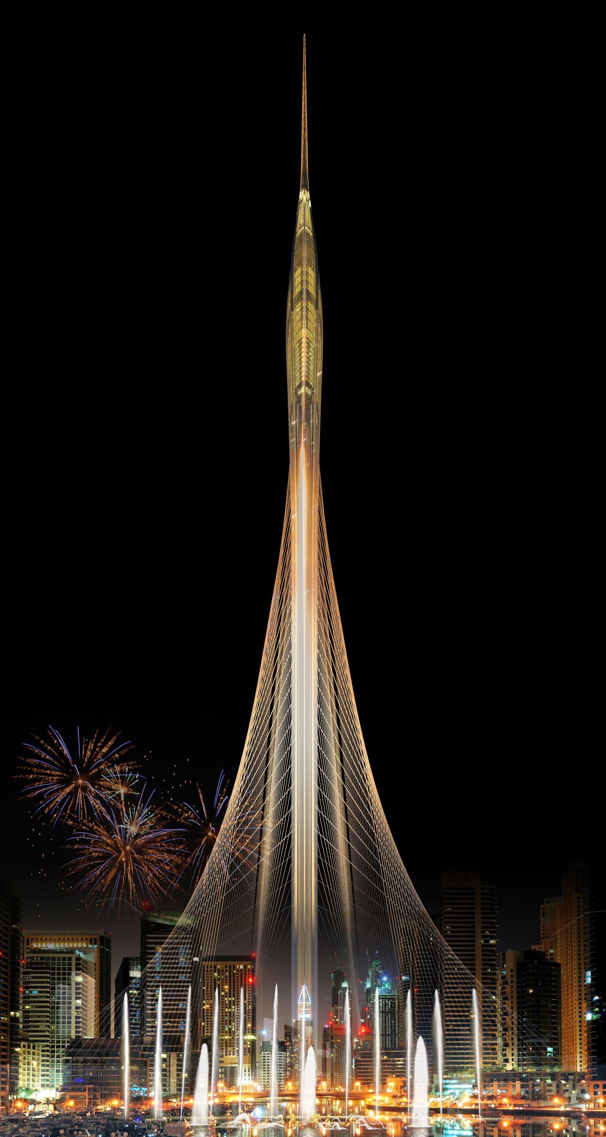 Небоскрёб The Tower стоимостью $1 млрд. будет на 100 метров выше Бурдж-Халифы