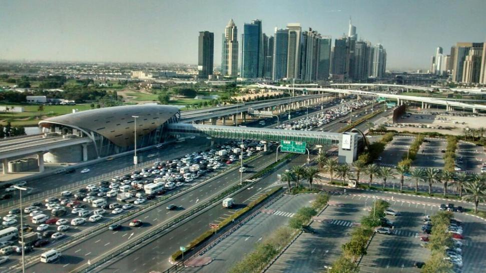Власти расширяют дорожную сеть вокруг аэропорта Dubai International