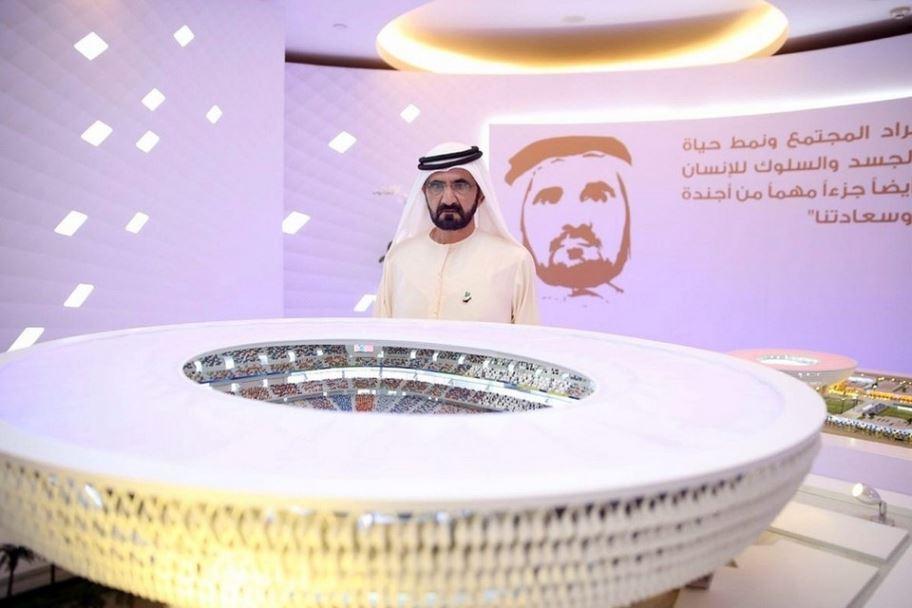 В Дубае построят первый в мире полностью кондиционируемый спортивный стадион