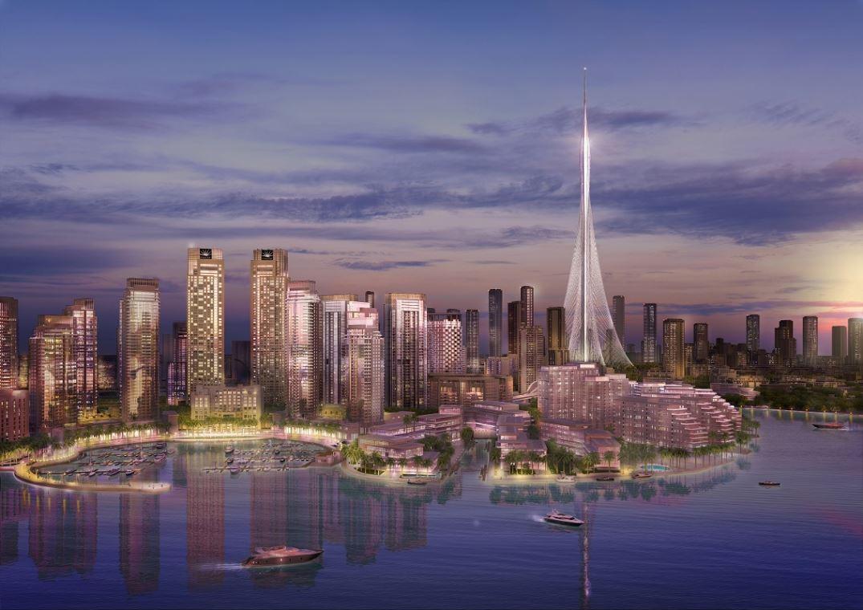 Новый небоскрёб в Дубае будет выше башни Бурдж-Халифа