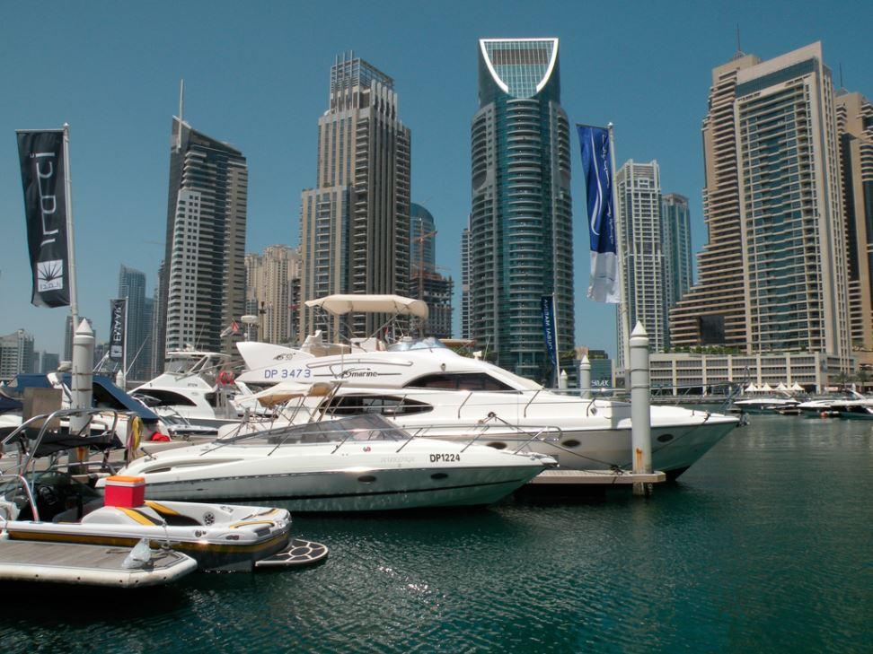 Новая пристань для роскошных яхт в Дубае