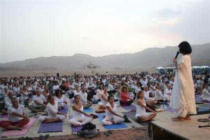 Фестиваль йоги в Дубае привлечёт 10 000 посетителей