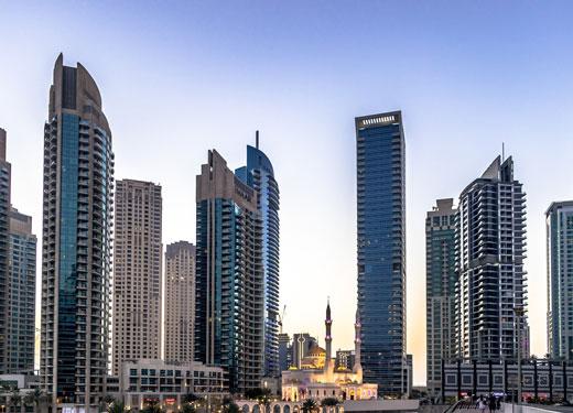 النشاط العقاري يعزز نمو الناتج المحلي الإجمالي في دبي
