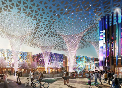 الكشف عن الأثر الاقتصادي لمعرض إكسبو 2020 بمليارات الدولارات