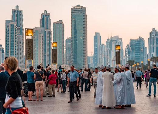 دبي تقود نمو قطاع السياحة الإماراتي