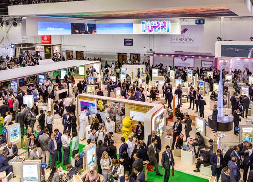نمو قطاع الاجتماعات والرحلات التحفيزية والمؤتمرات والمعارض بدبي بنسبة 24 في المائة خلال عام 2018