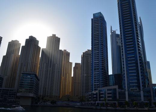 المستثمرون يرصدون 44.1 مليار دولار أمريكي لسوق العقارات في دبي في عام 2018