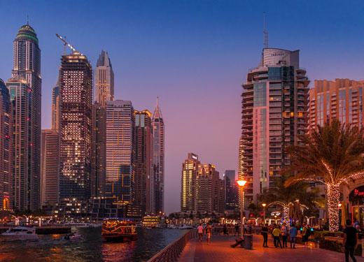 """دبي تحدد هدفًا لتصبح """"المدينة الأكثر زيارةً على مستوى العالم"""" بحلول عام 2025"""