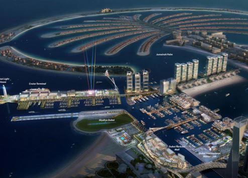 """""""كريستال كروزس"""" تدشّن أولى رحلاتها الإقليمية من دبي"""