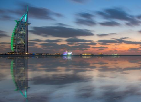 دبي ضمن أفضل خمس وجهات سفر على مستوى العالم