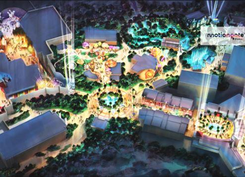 ألعاب هانجر جيمز ومناظر الحدائق المائية الضخمة تعزز معالم الجذب في دبي