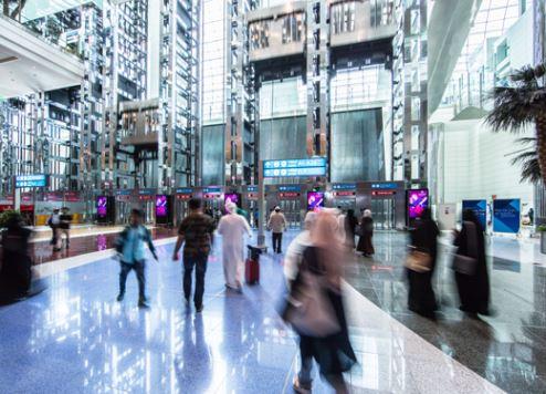 حركة المسافرين بمطار دبي الدولي تُسجِّل 6.8 مليون مسافر خلال شهر مايو