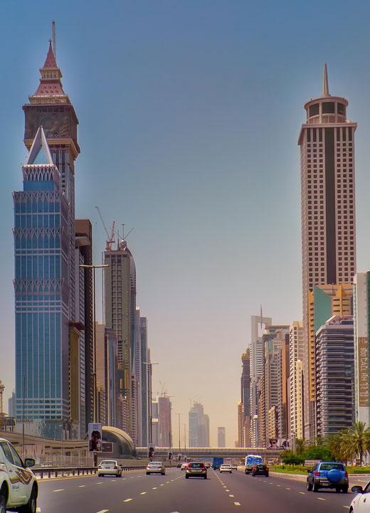 البنية التحتية للنقل في دبي صنفت من بين الأفضل في العالم