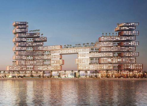 الإعلان عن أيقونة معمارية جديدة من أتلانتس في دبي