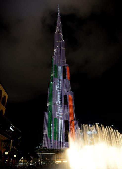 برج خليفة ونافورة دبي الوجهتان المفضلتان للسائحين في الإمارات العربية المتحدة