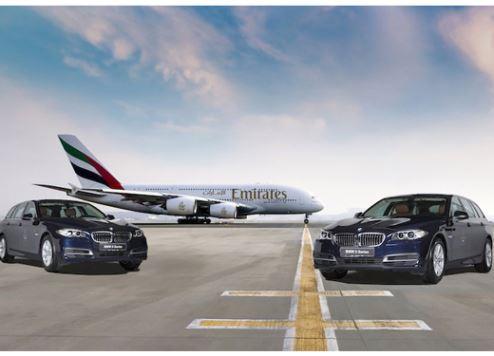 طيران الإمارات تعقد شراكة مع بي إم دبليو لتوفير أسطولها الجديد من سيارات خدمة السيارة مع السائق