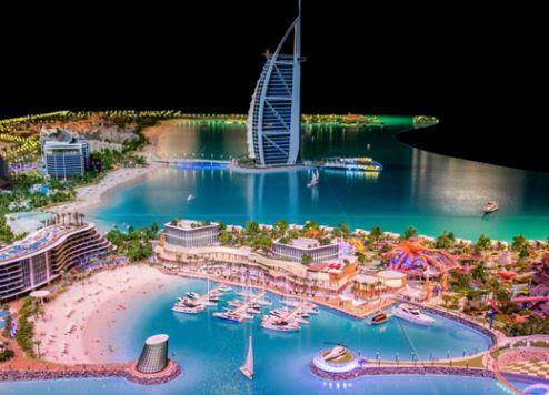 كشف النقاب عن خطط لمشروع سياحي عملاق جديد بإقامة جزيرتين توأمتين بمدينة دبي