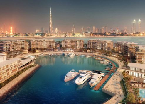 An artist's impression of The Bulgari Dubai