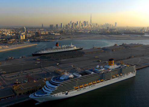 Dubai cruise sector is booming.