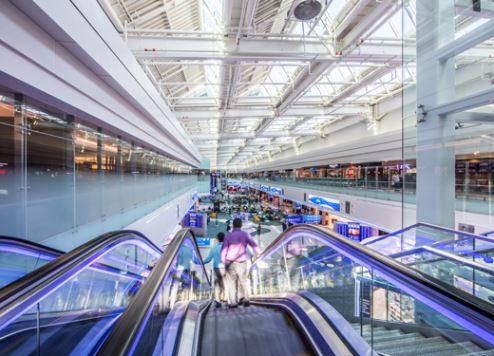 Dubai Airport Concourse D
