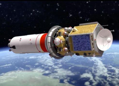 Artist's impression of the UAE's Mars Hope probe