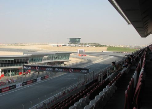 The hotel will overlook Dubai Autodrome