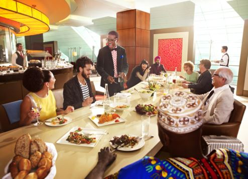 Emirates Business Class Lounge - DXB