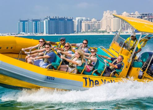 The Yellow Boats sightseeing tour