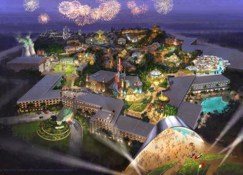 دبي تُنشئ متنزه توينتيث سينشري فوكس وورلد