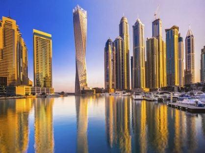 دولة الإمارات العربية المتحدة من بين أغنى خمسة بلدان بناءا على الأصول المبنية لكل فرد