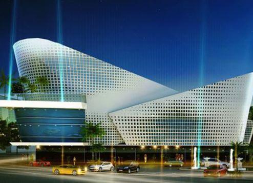 تصميم مبنى هيئة الطرق والمواصلات
