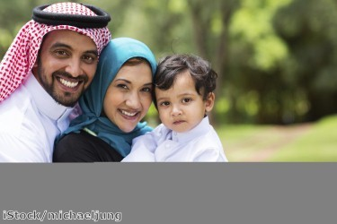 Saudi Arabian Tourists in Dubai