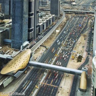 زيادة طول شبكة مترو دبي إلى 421 كم بحلول 2030