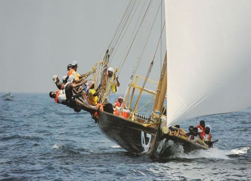 The Al Gaffal Dhow Race