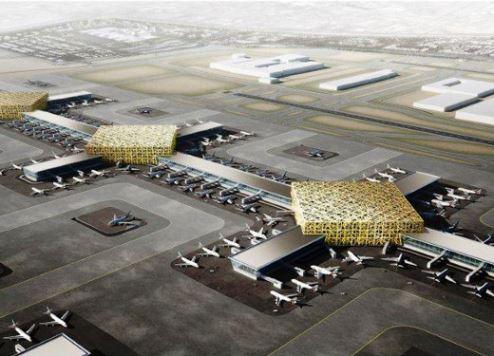 ارتفاع عدد المسافرين في مركز الطيران  الضخم الجديد في دبي
