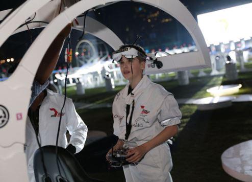 World Drone Prix 2016 winner Luke Bannister