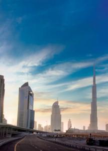 المضيّ قدمًا نحو تشييد أكبر ناطحات السحاب التوأم في العالم في دبي
