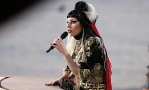 """ليدي غاغا """"تُبدي حماسة وشغفًا لعرضها الغنائي في دبي"""""""