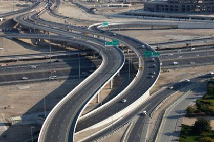دبي القديمة والحديثة