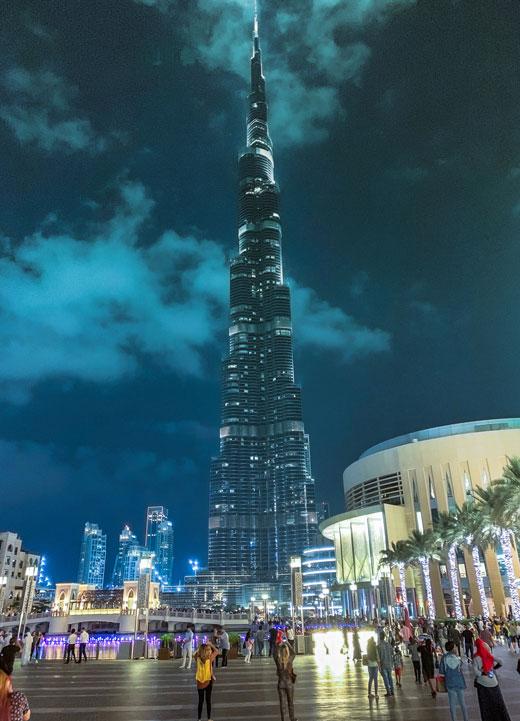 ارتفاع أعداد السائحين الوافدين إلى دبي بقوة خلال النصف الأول من عام 2019
