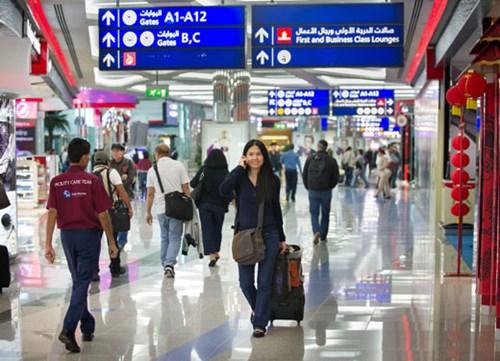 تزايد أعداد المسافرين عبر مطار دبي الدولي في أكتوبر