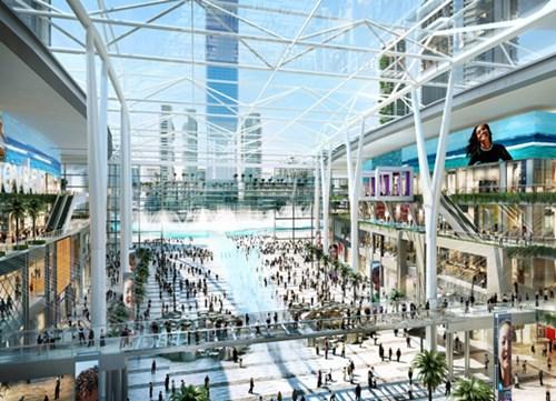 افتتاح ميدان ميجا مول بدبي في مارس 2020